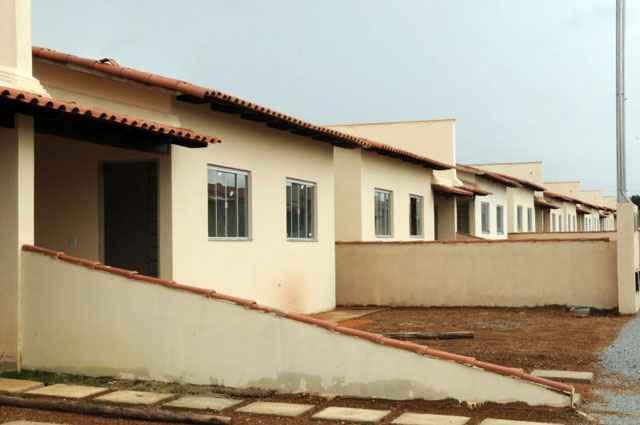 Ficam destinados R$ 21,5 bilhões para concessão de financiamentos a pessoas passíveis de enquadramento no Programa Nacional de Habitação Urbana - Zuleika de Souza/CB/D.A Press