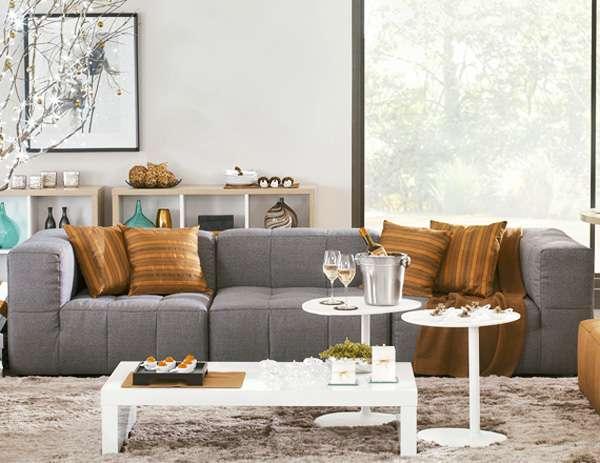Os itens modulares podem ser usados sozinhos ou lado a lado, podendo formar várias combinações de sofás de dois ou mais lugares - Divulgação/Tok&Stok