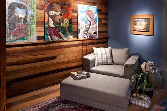 A sala de leitura deve ser um ambiente convidativo e aconchegante, que estimula a leitura e torna a atividade mais prazerosa - Divulgação/Luciana Bossle