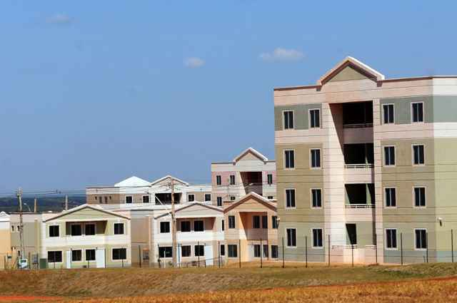 Programa financia casas e apartamentos para famílias com renda até R$ 5 mil  - Ed Alves/CB/D.A Press