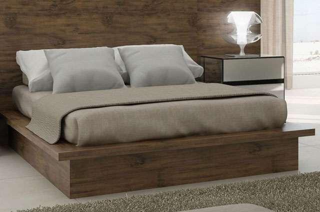 Bases para cama em tamburato s o resistentes e d o charme - Cama tipo japonesa ...