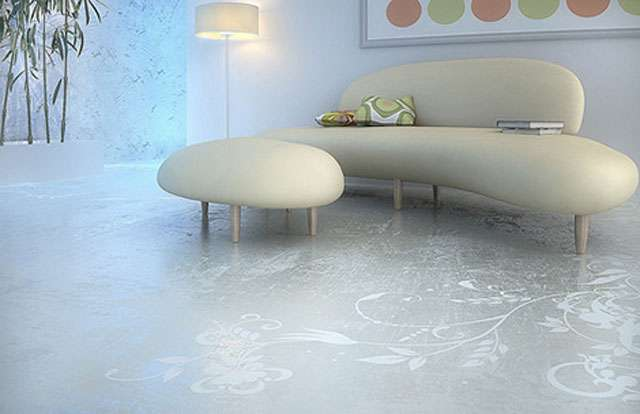 Antes limitado ao chão da fábrica, o material invadiu a sala de estar, os quartos e a cozinha, graças a tecnologias como o polimento por diamante - Reprodução Internet/Blog Mais Arquitetura