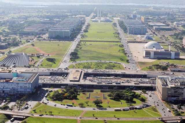 Área central: representantes da sociedade discordam das normas de intervenção urbana aprovadas pelo Conplan - Breno Fortes/CB/D.A Press