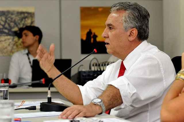 Prestes a se licenciar da secretaria para sair candidato, Magela garante não ter motivações políticas ou pressa para encaminhar o PPCub - Marcelo Ferreira/CB/D.A Press