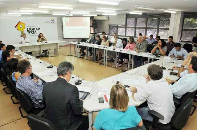 Reunião da equipe técnica do Conplan: componentes estão sendo contestados pelo Ministério Público - Marcelo Ferreira/CB/D.A Press
