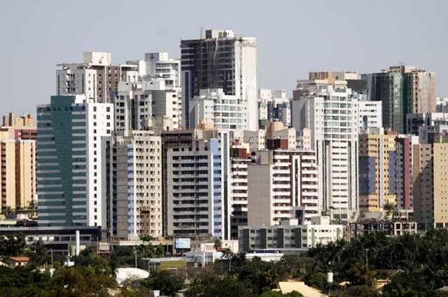 Estudo inédito realizado pelo Banco Central garante não existir qualquer sinal de bolha imobiliária no país - Carlos Vieira/CB/D.A Press