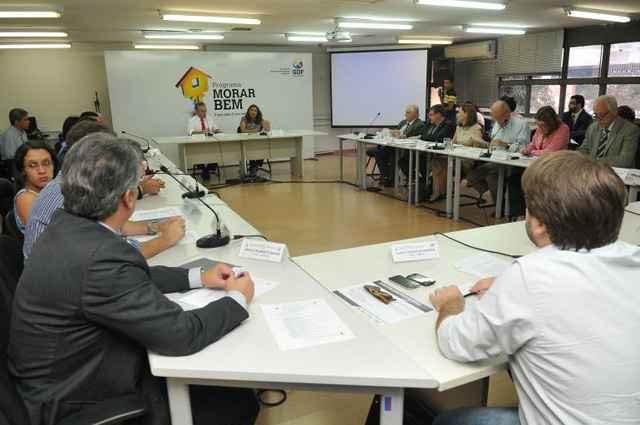 Reunião do Conplan na última terça-feira: Justiça entende que GDF continua indicando conselheiros - Marcelo Ferreira/CB/D.A Pres