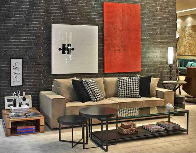 Para uma decoração clássica, a disposição das peças requer simetria e equilíbrio harmônico - Divulgação/Líder Interiores