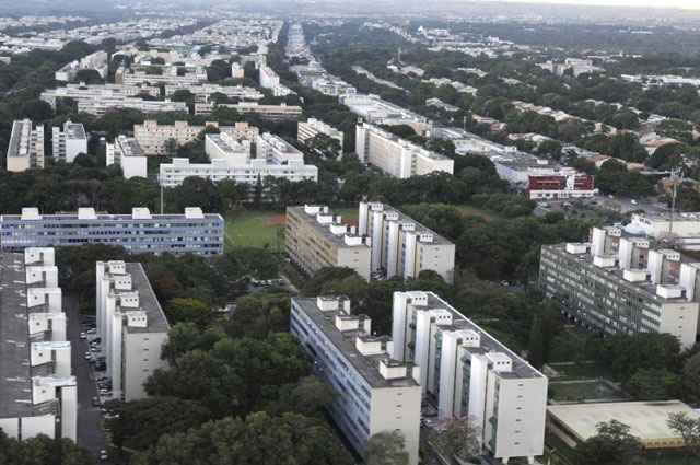 A Asa Sul foi a região aonde foram apresentadas os maiores valores do m², com mediana mais alta de 12 mil reais nas quitinetes  - Monique Renne/CB/D.A Press