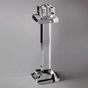 Castiçal Ana, da Prestige, em cristal e com 6cm de diâmetro x 21,5cm de altura. Na Camicado (R$ 69,90) - Camicado/Divulgação