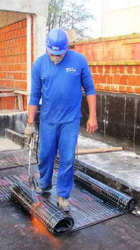 Iimpermeabilização evita problemas estruturais na obra