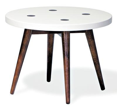 Mesa lateral Biscoito Fino, 50cm, da Oppa - R$ 259 -