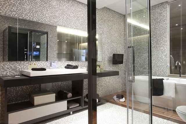 Compor banheiros tecnológicos é possível por meio de sistemas inteligentes que tornam atividades rotineiras mais práticas  - Divulgação/Cidade Verde