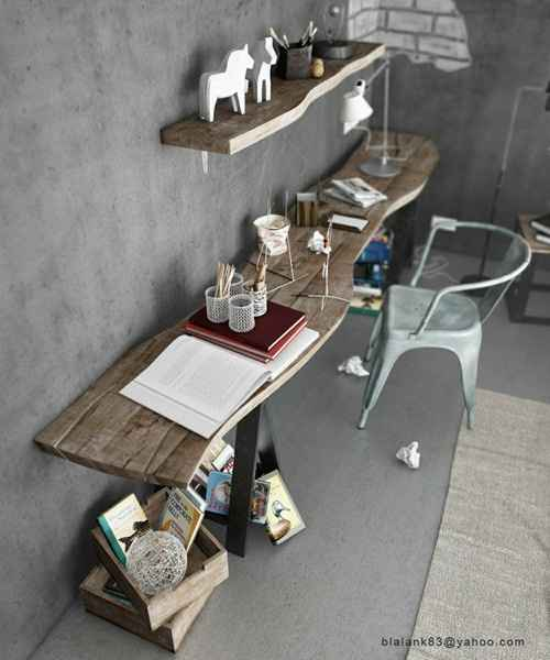 Ambiente minimalista também pode ajudar a manter a concentração no trabalho - Carla Aston/Divulgação