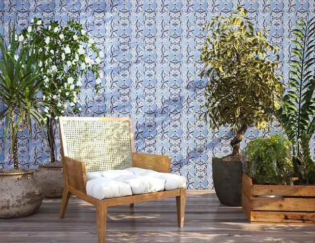 O azulejo português é um clássico atemporal, principalmente em função da elegância das cores e formas - Divulgação/Quilla e Inti