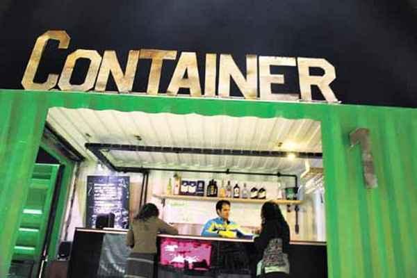 Divulgação/Container Bar