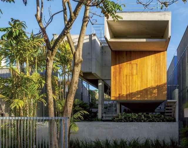 Casa de Fim de Semana em São Paulo (SPBR Arquitetos)  - Divulgação/Nelson Kon