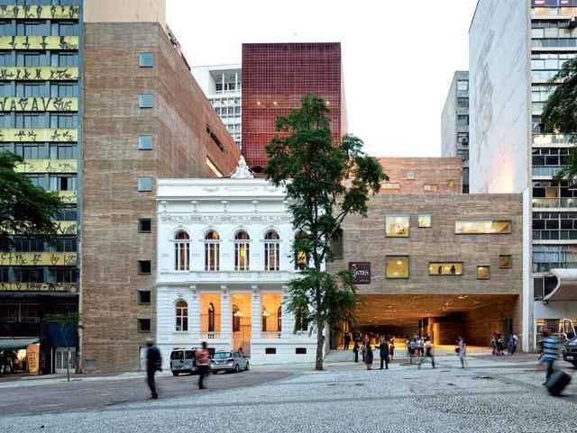 Praça das Artes (Brasil Arquitetura) - Divulgação/Nelson Kon