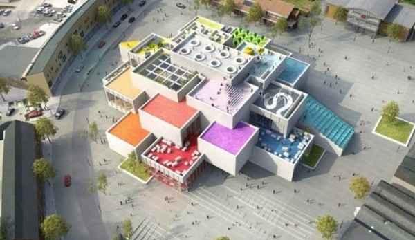 A Lego House deve ser inaugurada em 2016, na cidade de Billund, na Dinamarca - Reprodução da Internet