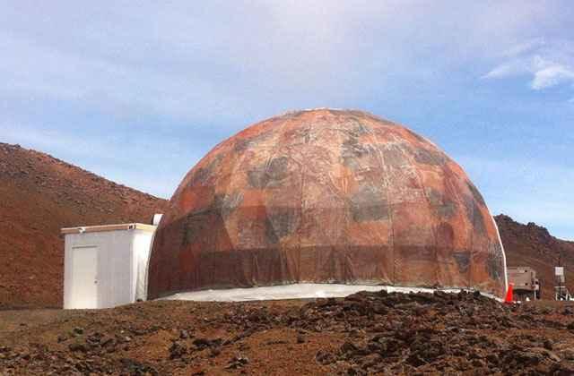 Hawaii Space Exploration Analog & Simulation/Reprodução