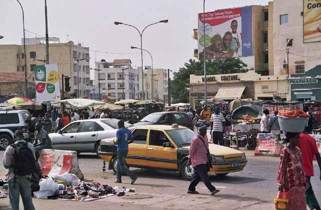 O sistema será testado em fevereiro deste ano na cidade de Dakar, no Senegal - Street Market Dakar Senegal
