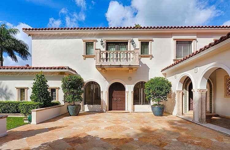 A luxuosa casa que pertenceu à estrela porto-riquenha foi construída em 1937 - Kevin Luna Studios LLC/Divulgação