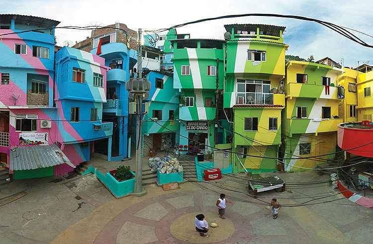 Favela Santa Marta, no Rio de Janeiro - Verd Gris/Divulgação