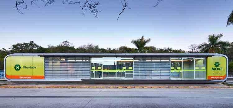 O projeto do BRT de BH, assinado pelo escritório Gustavo Penna, foi escolhido pelo voto popular -