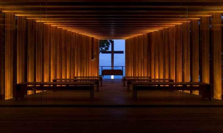 O projeto foi o melhor, de acordo com júri especializado, entre os finalistas da categoria edifícios religiosos e memoriais -