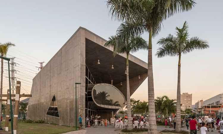 A nave do conhecimento, no Rio de Janeiro, foi produzida pela RioUrbe -