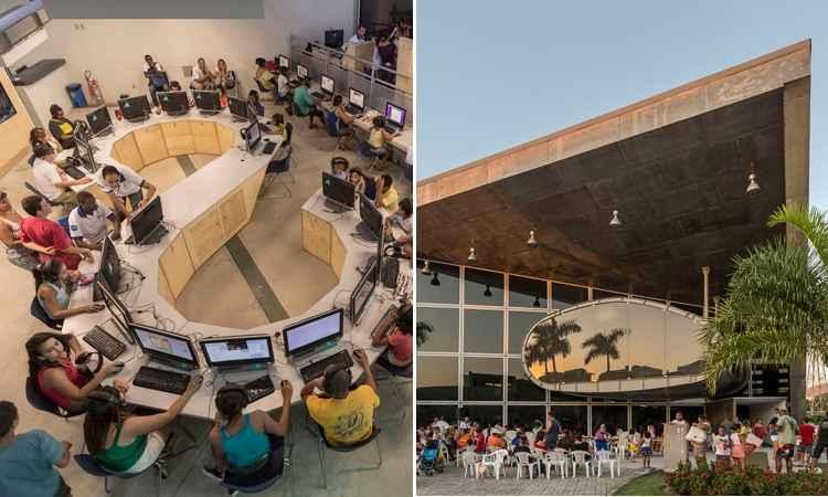 O projeto foi escolhido pelo público na categoria de edifícios governamentais ou municipais -