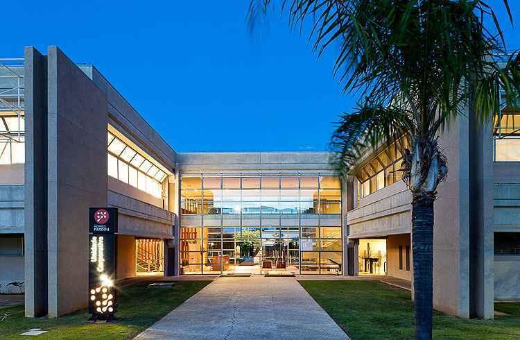 Edifício de um laboratório e centro diagnóstico planejado por Lauro Miquelin abusa de desenho luxuoso e inovador para ser mais atrativo - LM Divulgação
