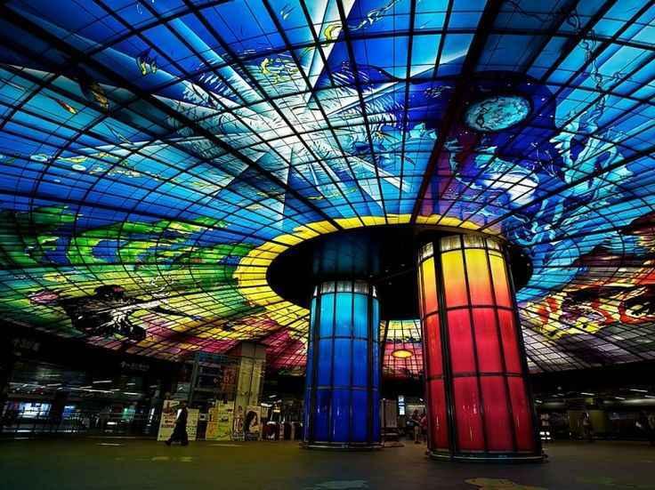 Estação Formosa Boulevard, Kaohsiung, Taiwan - Reprodução / Internet