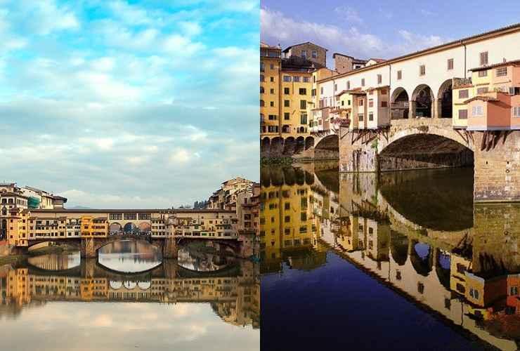 Ponte Vecchio, em Floreça (Itália). - Reprodução / Internet