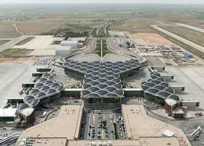 Aeroporto Internacional de Queen Alia - Reprodução Internet