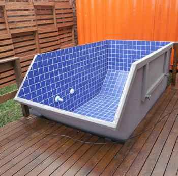 Resid ncia em container custa 40 menos que uma casa de alvenaria lugar certo - Container piscina ...