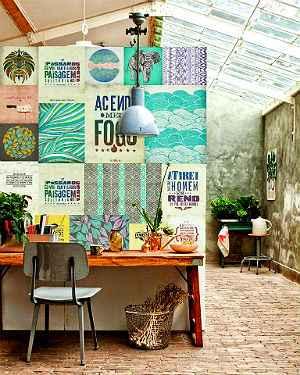 Arte com cores mais claras não carrega o ambiente e o deixa bem descolado - Urban Arts/Divulgação