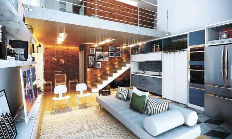 Garagem vira loft em projeto da engenheira Cristiana Abadjieff, que ainda transformou um galpão em estúdio e ampliou uma cozinha - Arquivo pessoal
