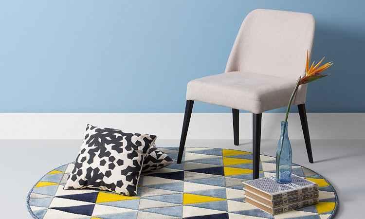 Tapete para área de estar ou dormitório deve ter uma textura agradável aos pés - Oppa/Divulgação