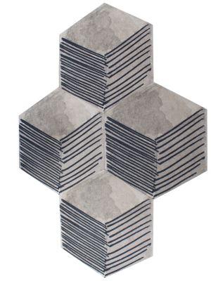 Formas geométricas podem criar um efeito estético diferente no ambiente - Oppa/Divulgação
